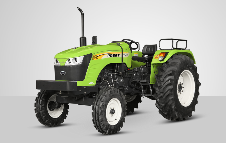 Preet 7549 2WD/4WD Tractor Video Reviews, Features, Specification. Powertrac Preet 7549 2WD/4WD Tractor On-road Price in India