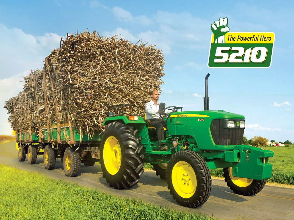 John Deere 5210 2WD Tractor Video Reviews, Features, Specification. John Deere 5210 2WD Tractor On-road Price in India