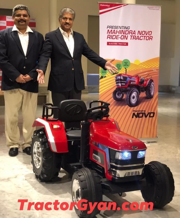 New Mahindra Toys Ride-on tractor is now available in market, know ₹ price !