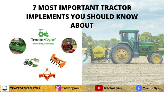 7 Most important implements for compact tractor
