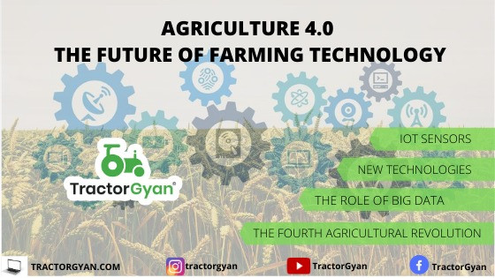 AGRICULTURE 4.0 – THE FUTURE OF FARMING TECHNOLOGY