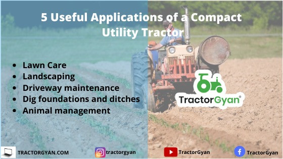5 Useful Applications for a Compact Utility Tractor