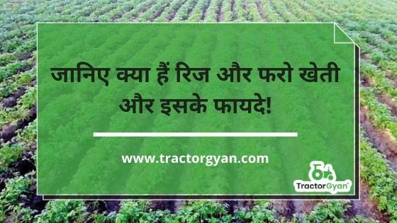 Know about ridge and furrow system of farming and its advantages