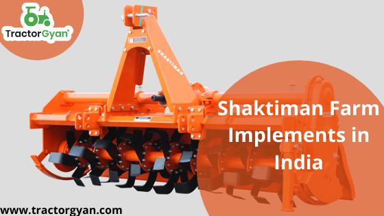 Shaktiman farm implement in india