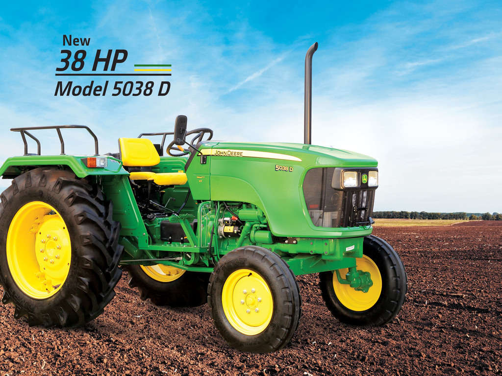 John deere 5038 D Tractor Onroad Price in India. John deere 5038 D Tractor features and Specification, Review Full Videos
