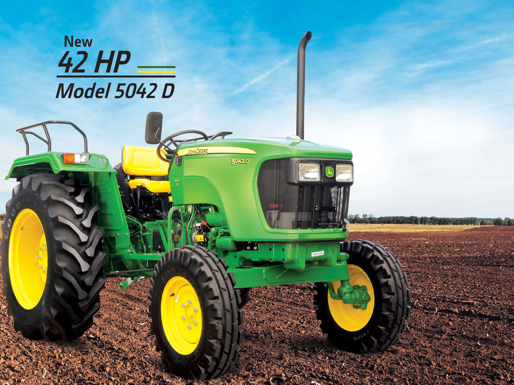 John deere 5042 D Tractor Onroad Price in India. John deere 5042 D Tractor features and Specification, Review Full Videos