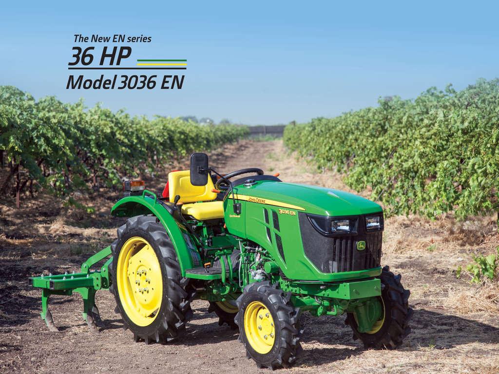 John deere 3036 EN Tractor Onroad Price in India. John deere 3036 EN Tractor features and Specification, Review Full Videos