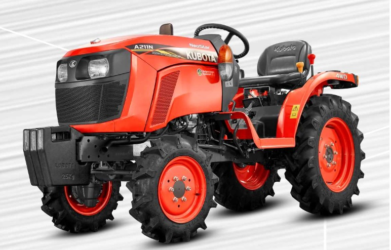 Kubota NeoStar A211N 4WD Tractor Onroad Price in India. Kubota NeoStar A211N 4WD Tractor features and Specification, Review Full Videos
