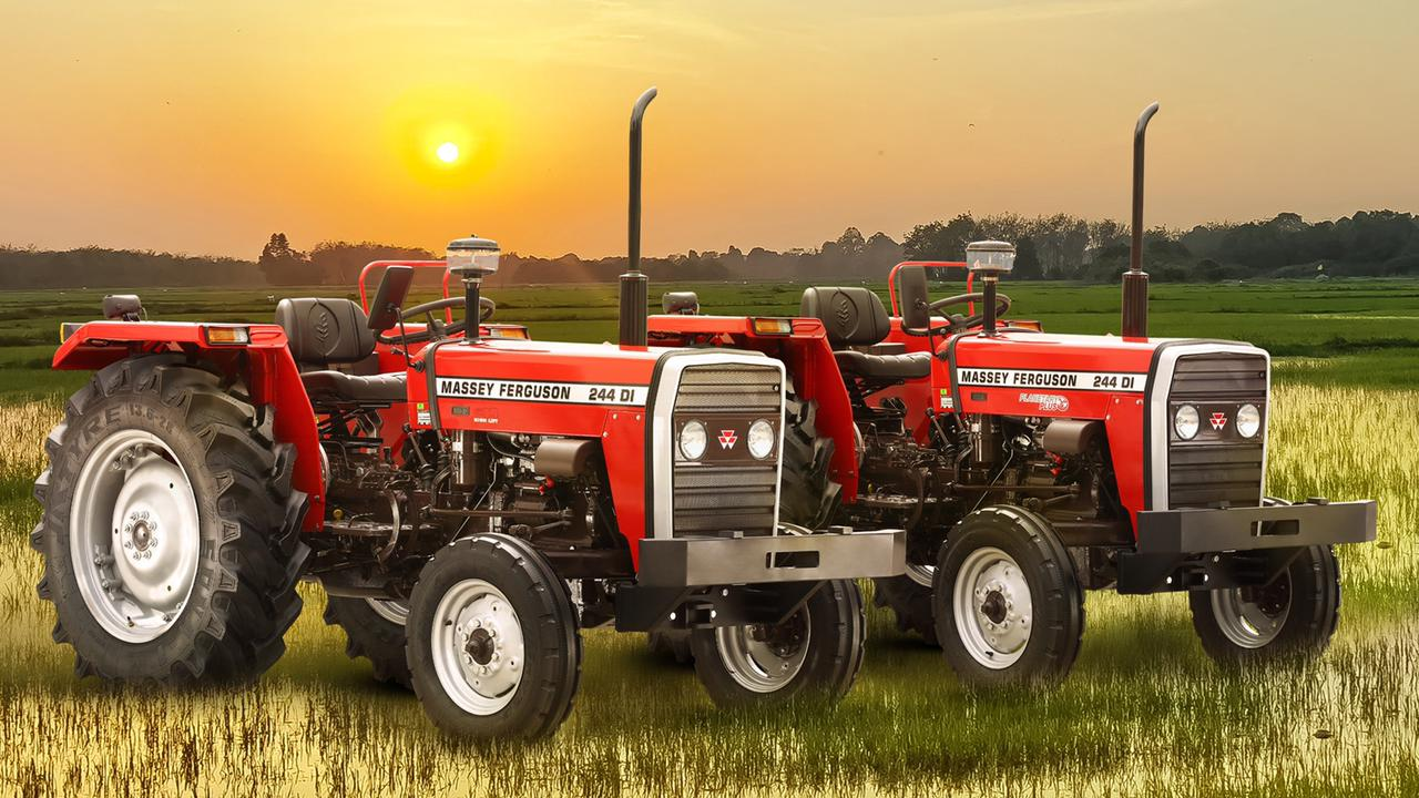 TAFE Launches Massey Ferguson 244 - Puddling Special Tractors for Andhra Pradesh