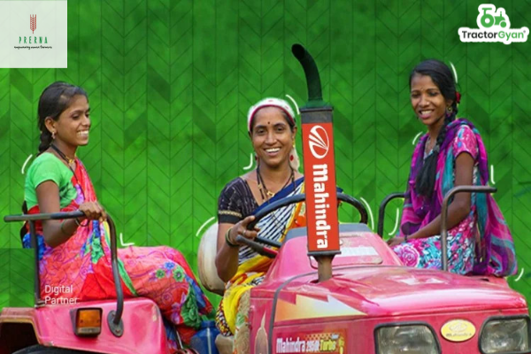 """Mahindra's initiative - """"Prerna for women and Power to their dreams"""""""