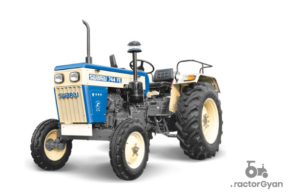 Swaraj 744 FE Tractor price, feature and mileage in India 2021 - Tractorgyan
