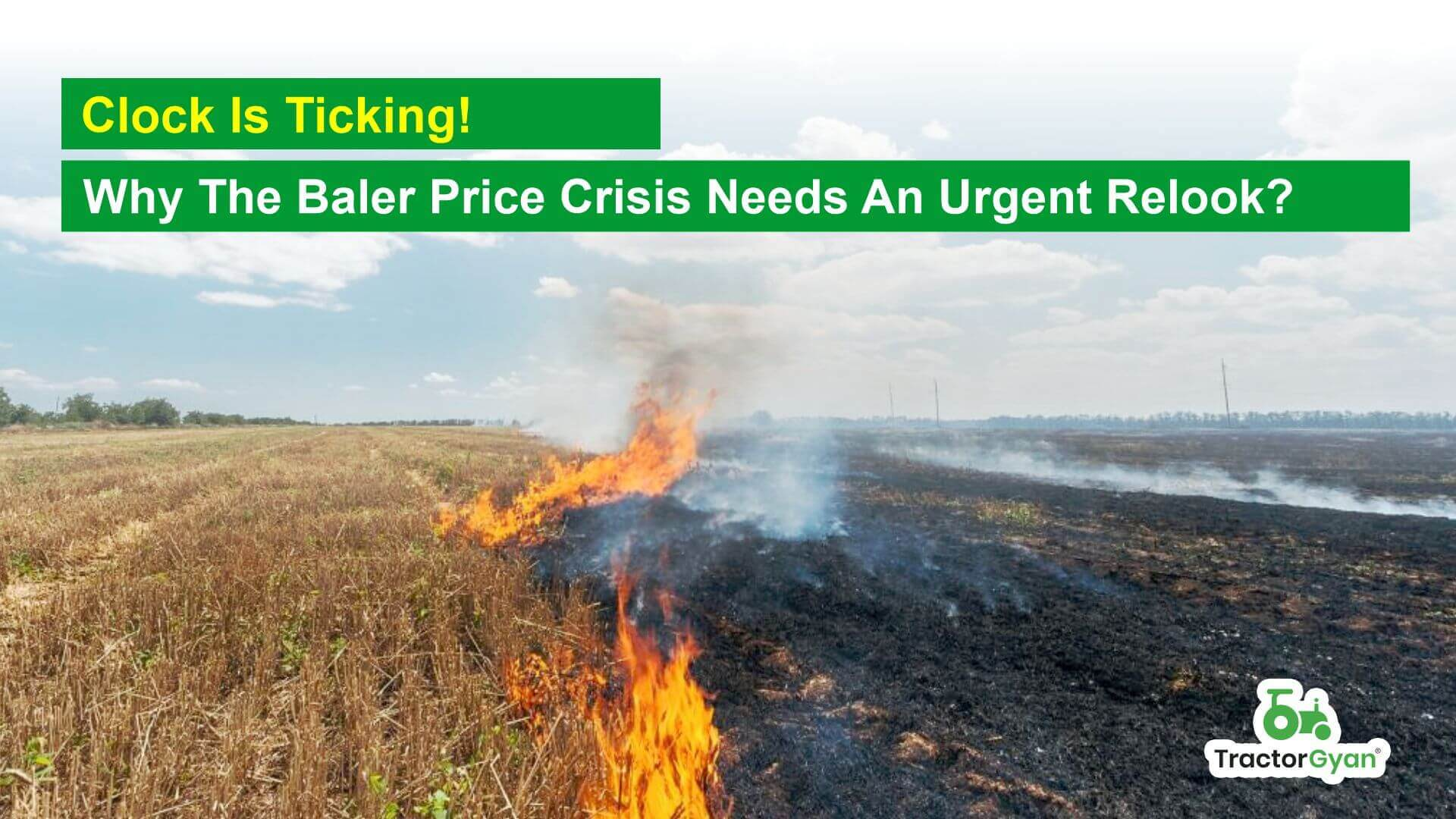 Clock is ticking! Why the Baler Price crisis needs an urgent relook?