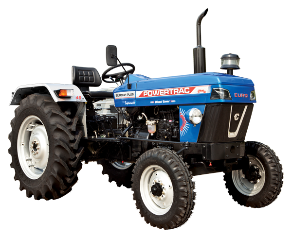 Powertrac Euro 41 Plus Tractor On-road Price in India. Powertrac Euro 41 Plus Tractor features and Specification, Review Full Videos