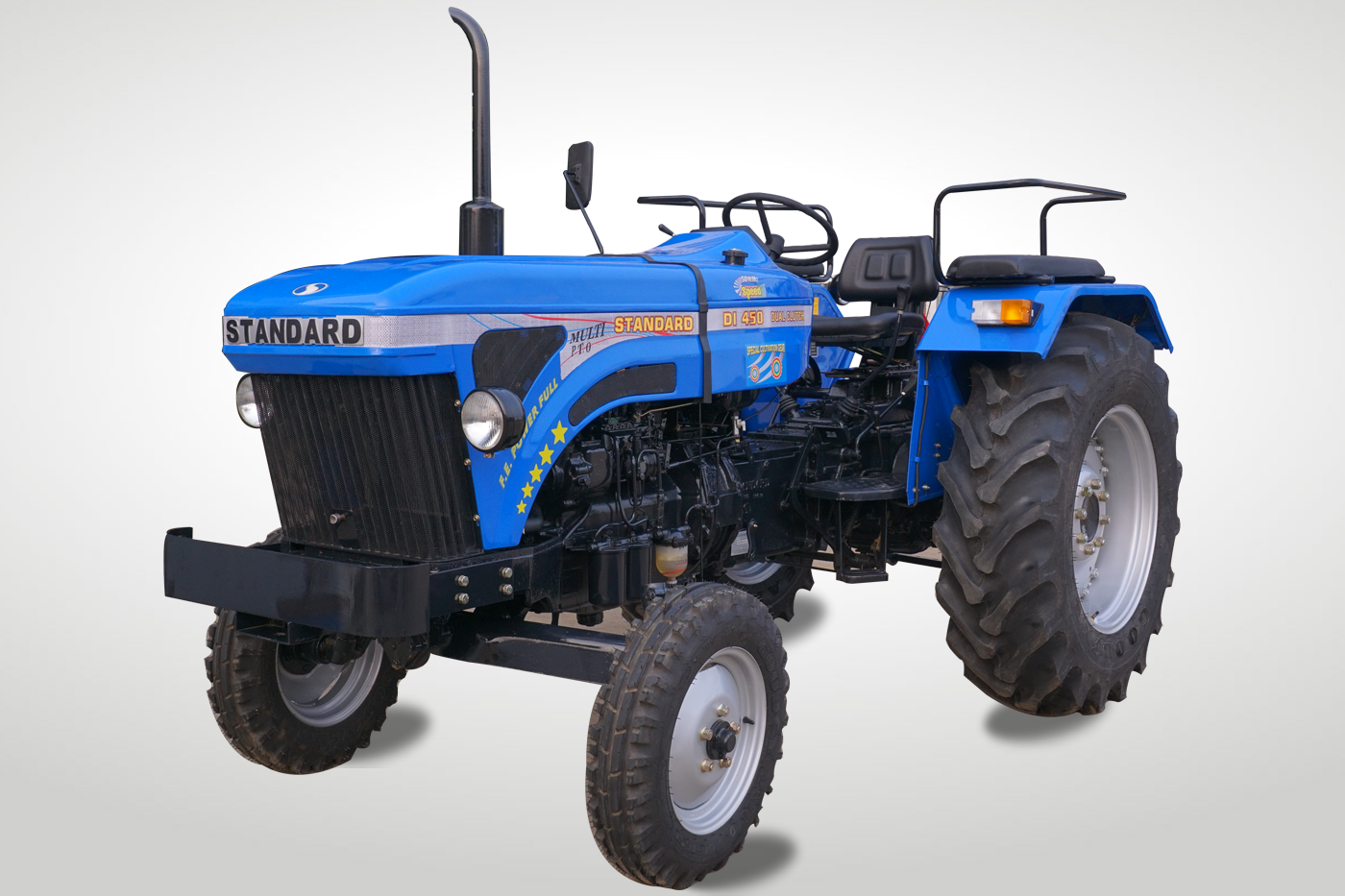 Standard DI 450 Tractor On-road Price in India. Standard DI 450 Tractor features and Specification, Review Full Videos