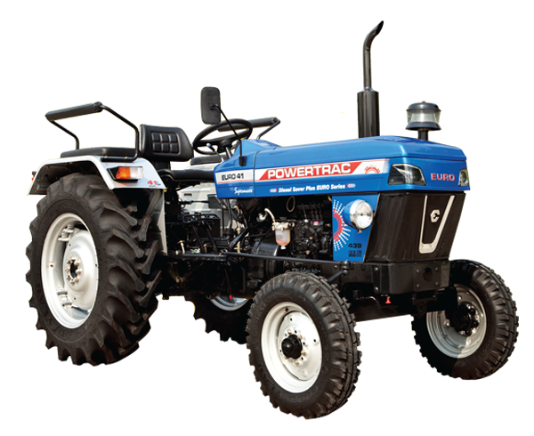 Powertrac Euro 41 Tractor On-road Price in India. Powertrac Euro 41 Tractor features and Specification, Review Full Videos