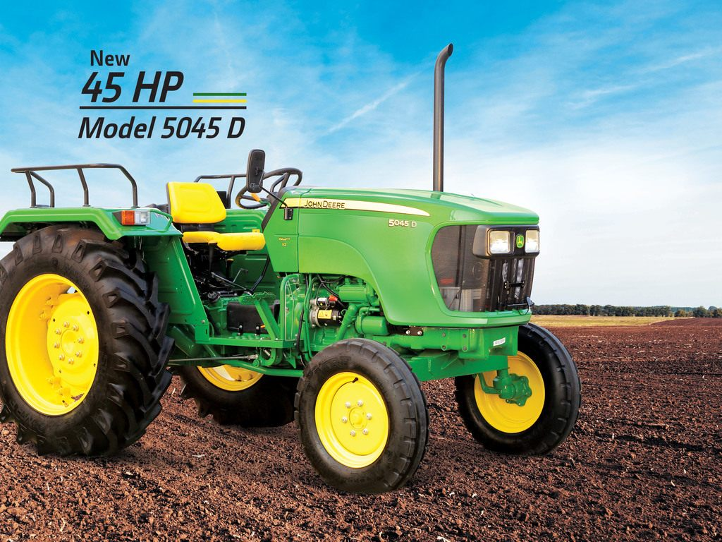 John deere 5045 D Tractor On-road Price in India. John deere 5045 D Tractor features and Specification, Review Full Videos