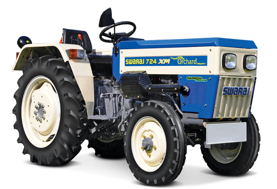 Swaraj 724 XM Orchard NT Tractor On-road price in India. Swaraj 724 XM Orchard NT Tractor Features, specifications, and full video review