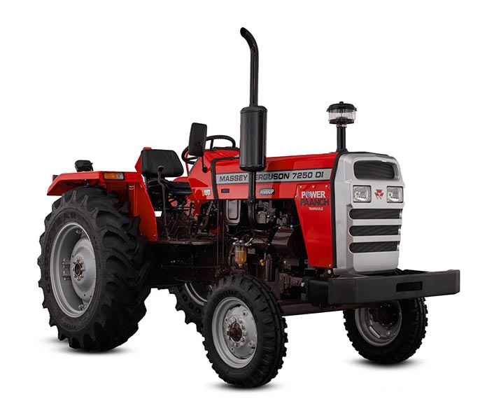 Massey Ferguson 7250 DI Power Up Tractor On-road price in India. Massey Ferguson 7250 DI Power Up Tractor Features, specifications, and full video review