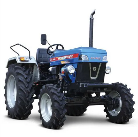 Powertrac Euro 45 Plus 4WD Tractor On-road price in India. Powertrac Euro 45 Plus 4WD Tractor Features, specifications, and full video review