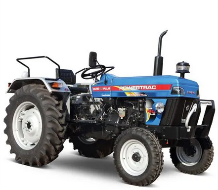 Powertrac Euro 45 Plus Tractor On-road price in India. Powertrac Euro 45 Plus Tractor Features, specifications, and full video review
