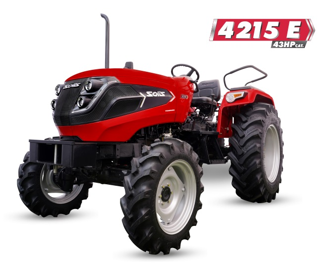 Solis 4215 E 4WD Tractor On-road price in India. Solis 4215 E 4WD Tractor Features, specifications, and full video review