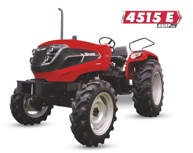 Solis 4515 E 4WD Tractor On-road price in India. Solis 4515 E 4WD Tractor Features, specifications, and full video review