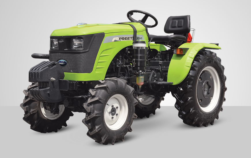 Preet 2549 2WD Tractor On-road price in India. Preet 2549 2WD Tractor Features, specifications, and full video review