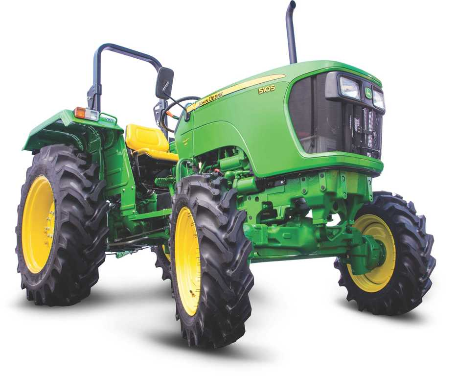 John Deere 5105 4WD Tractor on road price in India. John deere 5105 4WD Tractor features specifications and details