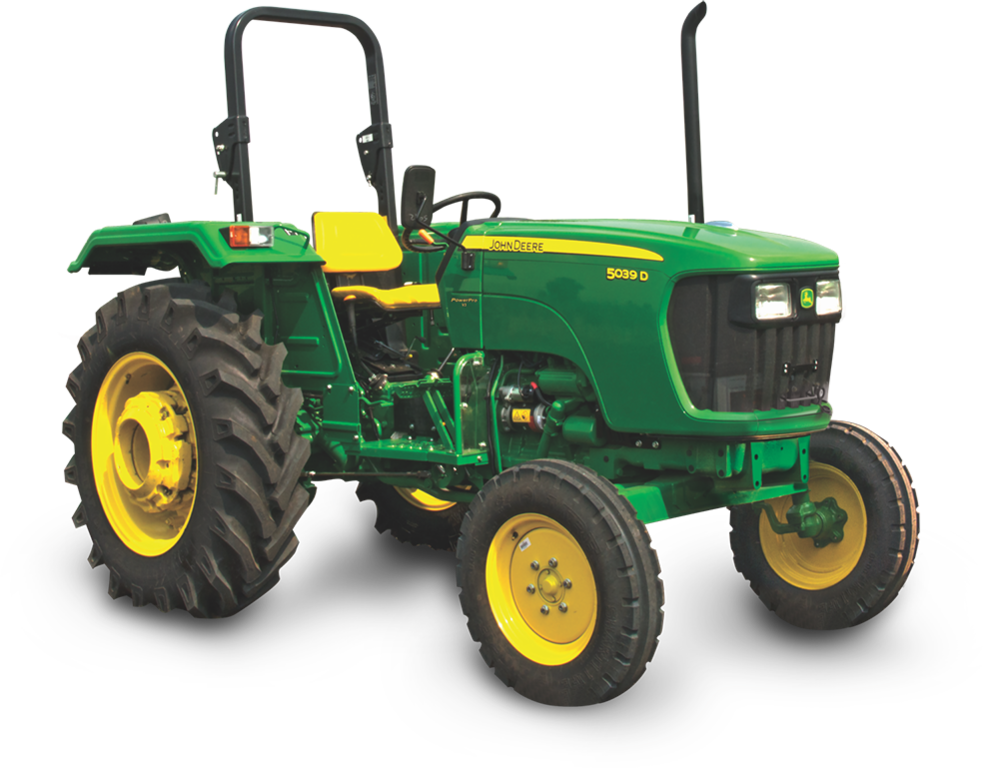 John Deere 5039D Power Pro Tractor on road price in India. John Deere 5039D Power Pro Tractor features specifications and details