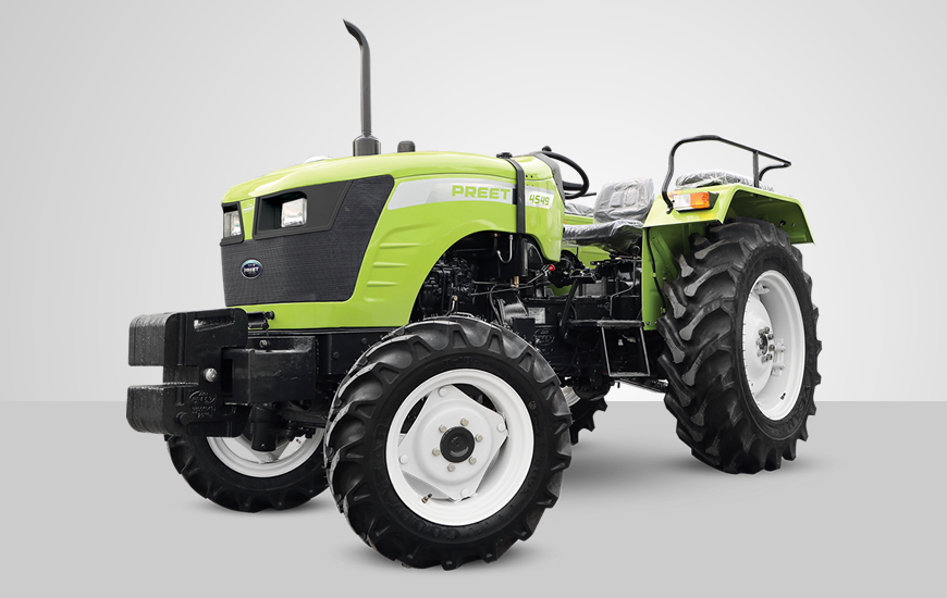 Preet 4549 CR 4WD Tractor On-road price in India. Preet 4549 CR 4WD Tractor Features, specifications, and full video review