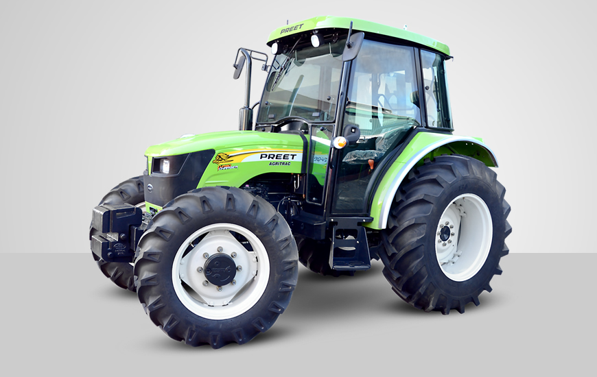 Preet 9049 AC 4WD Tractor On-road price in India. Preet 9049 AC 4WD Tractor Features, specifications, and full video review