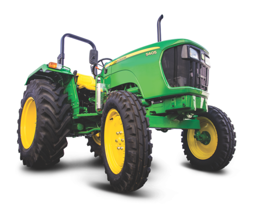 John Deere 5405 2WD Tractor on road price in India. John Deere 5405 2WD Tractor features specifications and details