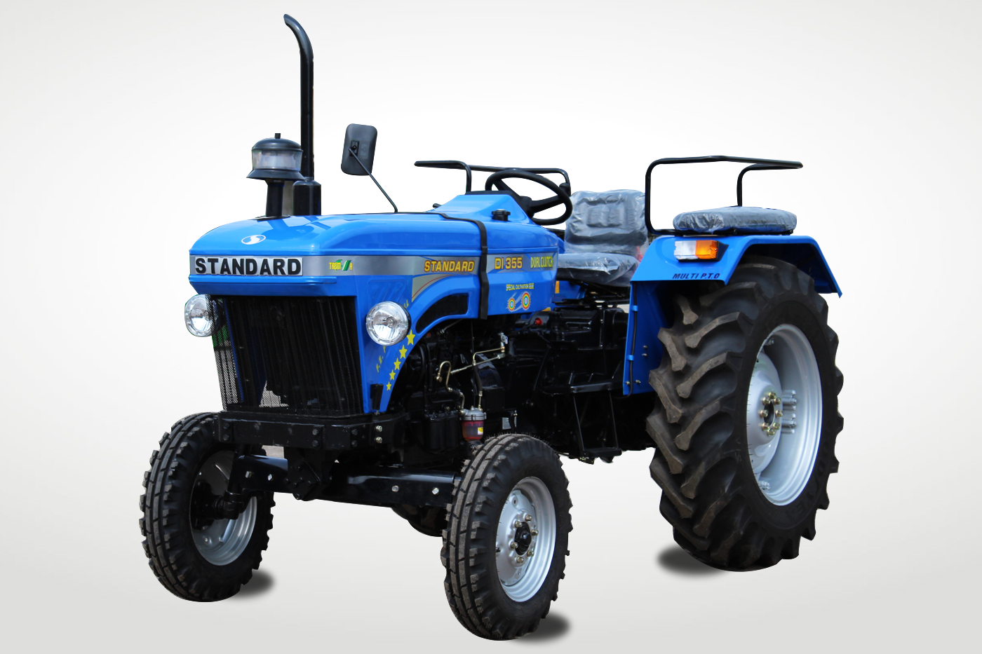 Standard DI 355 Tractor On-road price in India. Standard DI 355 Tractor Features, specifications, and full video review