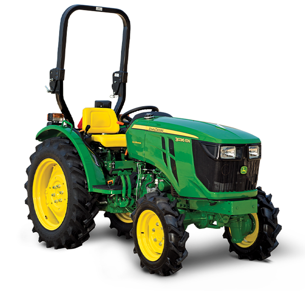 John Deere 3036 E 4WD Tractor on road price in India. John Deere 3036 E 4WD Tractor features specifications and details