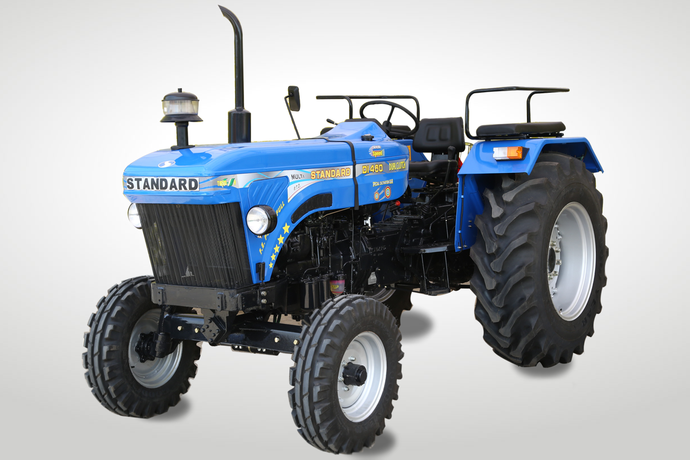 Standard DI 460 Tractor On-road price in India. Standard DI 460 Tractor Features, specifications, and full video review