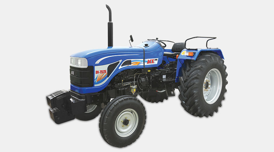 Ace DI 7575 Tractor On-road price in India. Ace DI 7575 Tractor Features, specifications, and full video review