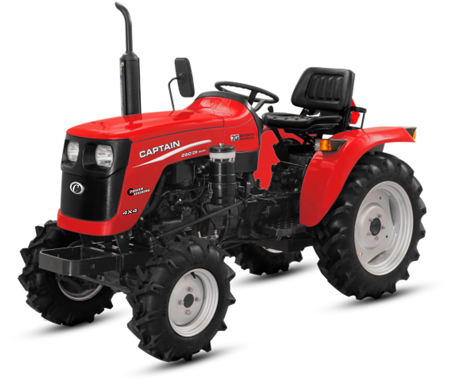 Captain 280 DI Tractor On-road price in India. Captain 280 DI Tractor Features, specifications, and full video review