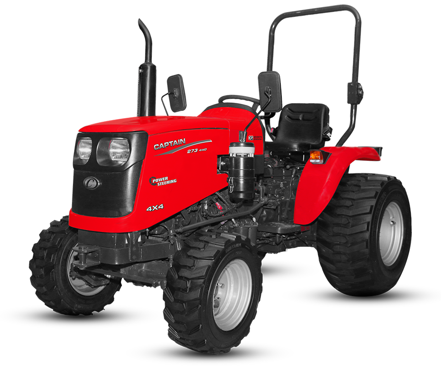 Captain 273 DI 4wd flotation tyre Tractor On-road price in India. 273 DI 4wd flotation tyre Tractor Features, specifications, and full video review