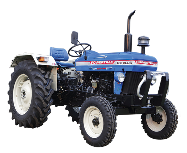 Powertrac 430 Plus Tractor on road price in India. Powertrac 430 Plus Tractor features specifications and details