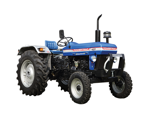 Powertrac 437 Tractor on road price in India. Powertrac 437 Tractor features specifications and details