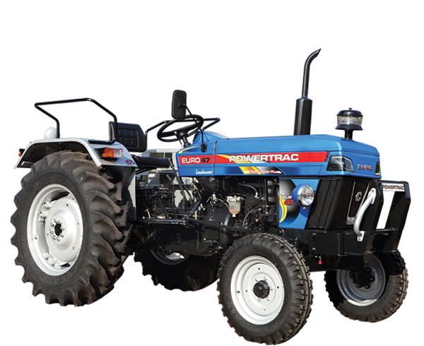 Powertrac Euro 47 Tractor on road price in India. Powertrac Euro 47 Tractor features specifications and details