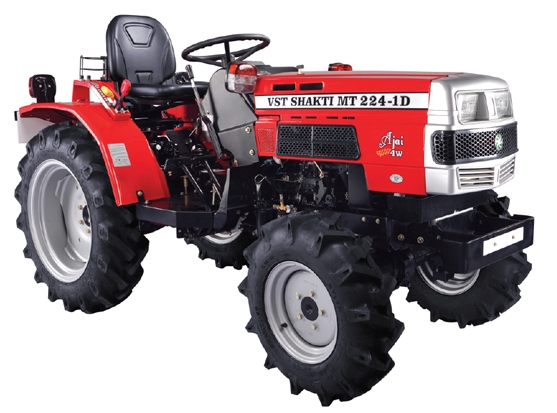 VST Shakti MT 224 1D AJAI 4WB Tractor on road price in India. VST Shakti MT 224 1D AJAI 4WB Tractor features specifications and details