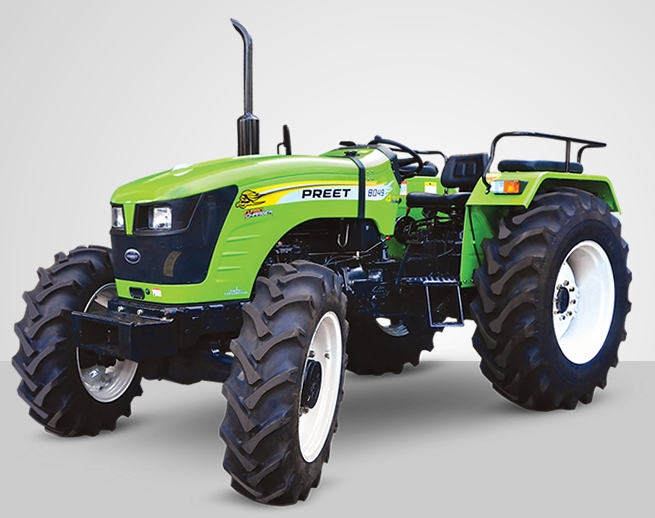 Preet 8049 2WD Tractor on road price in India. Preet 8049 2WD Tractor features specifications and details