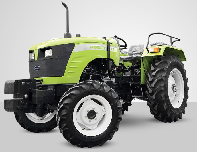Preet 4549 4WD Tractor on road price in India. Preet 4549 4WD Tractor features specifications and details