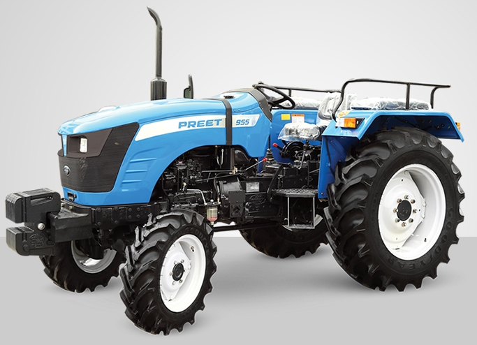 Preet 955 4WD Tractor on road price in India. Preet 955 4WD Tractor features specifications and details