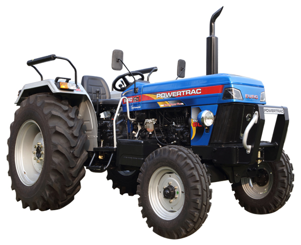 Powertrac Euro 60 Tractor Price, Feature, Specification, Full Review Video. Powertrac Euro 60 Tractor On-road Price in India