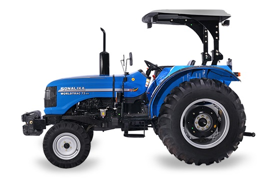Sonalika Worldtrac 75 Rx Tractor Price, Feature, Specification, Review Video. Sonalika Worldtrac 75 Rx Tractor On-road Price in India