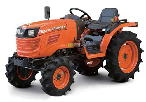 Kubota B2420 4x4 Tractor Price in India. Kubota B2420 4x4 Tractor Video Reviews, Features, Specification
